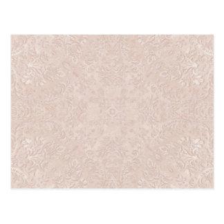 soft pink lace background postcard