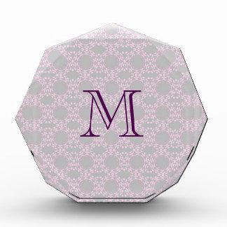 Soft Pink Pattern Award