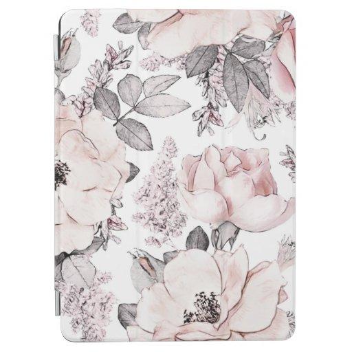 Soft Pink Petals iPad Air Cover