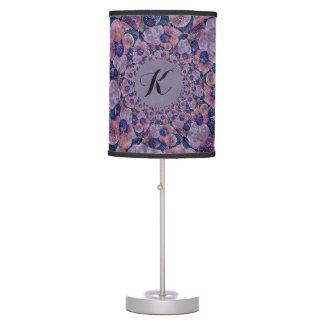 Soft Pink, Purple And Blue Kaleidoscope Balloons Desk Lamp