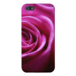 Soft Pink Rose floral Covers For iPhone 5