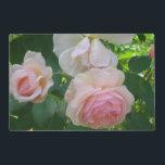 "Soft Pink Roses Placemat<br><div class=""desc"">Soft Pink Roses</div>"