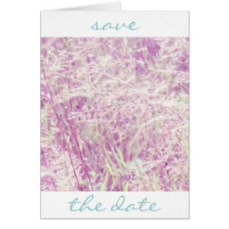 Soft Pink Tint Grass Card