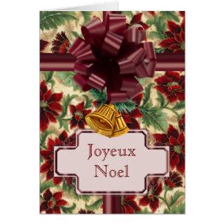 Soft Poinsettias Card