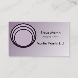 Steve martin gifts on zazzle soft purple black customise able business cards colourmoves