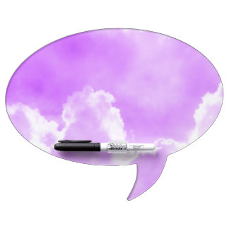 Soft Purple Clouds Dry-Erase Boards