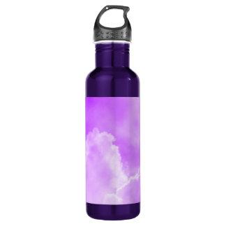 Soft Purple Clouds 24oz Water Bottle