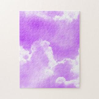 Soft Purple Clouds Jigsaw Puzzle