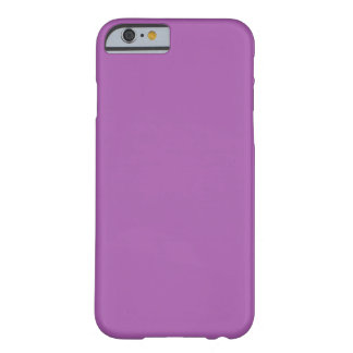 Soft Purple Color Barely There iPhone 6 Case