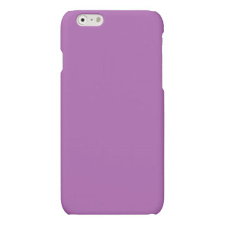 Soft Purple Color Matte iPhone 6 Case