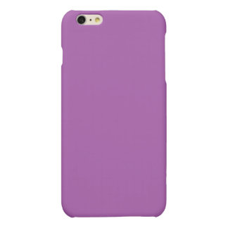 Soft Purple Color Matte iPhone 6 Plus Case