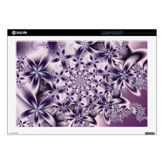 "Soft Purple Flowers 17"" Laptop Skins"