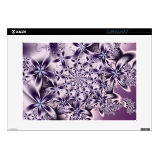 Soft Purple Flowers Skins For Laptops