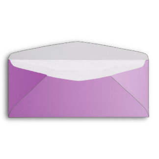 Soft Purple Ombre #10 Envelope