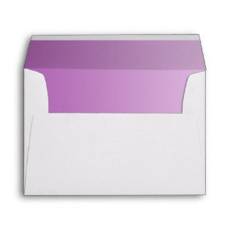 Soft Purple Ombre A7 Envelope