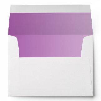 Soft Purple Ombre A7 Envelope