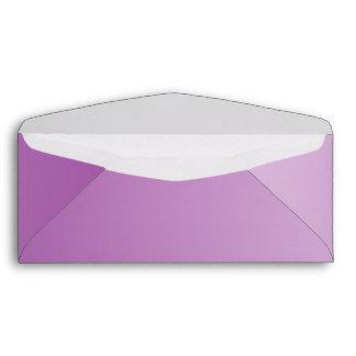 Soft Purple Ombre Envelopes