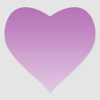 Soft Purple Ombre Heart Sticker