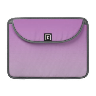 Soft Purple Ombre MacBook Pro Sleeve