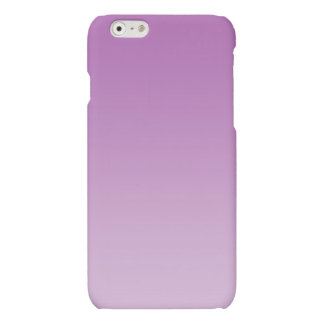 Soft Purple Ombre Matte iPhone 6 Case