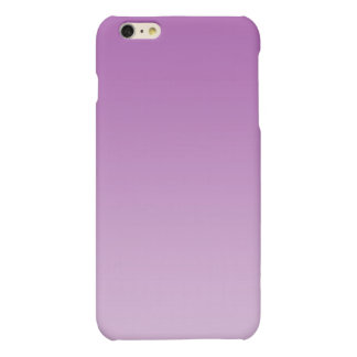 Soft Purple Ombre Matte iPhone 6 Plus Case