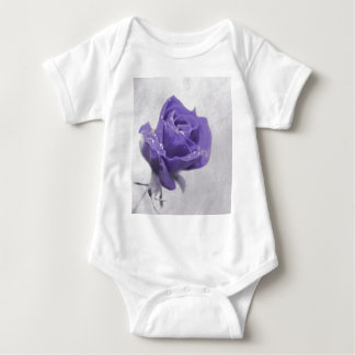 Soft purple Rose created by Tutti Baby Bodysuit