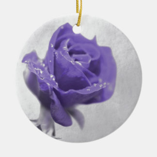 Soft purple Rose created by Tutti Ceramic Ornament