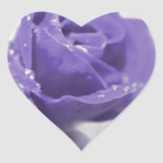 Soft purple Rose created by Tutti Heart Sticker