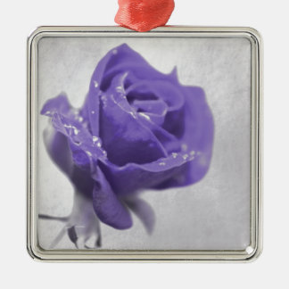 Soft purple Rose created by Tutti Metal Ornament