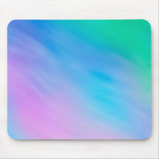 Soft Rainbow Colored Sky Mouse Pad