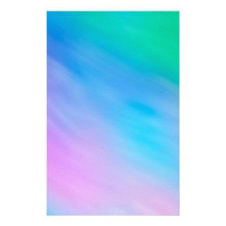 Soft Rainbow Colored Sky Stationery