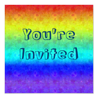 Soft Rainbow Invitations