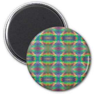 Soft Rainbow Lights Bands Abstract Design Refrigerator Magnets