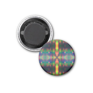 Soft Rainbow Lights Stripes Abstract Design Magnets
