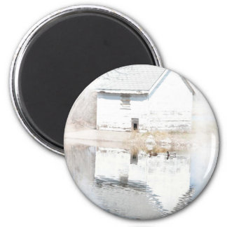 Soft reflections 2 inch round magnet