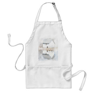 Soft reflections adult apron