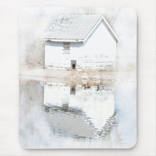 Soft reflections mouse pad