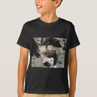 Soft rolls of wool called rovings or rolags T-Shirt