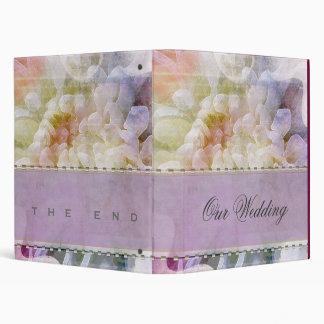 Soft & Romantic  Lilac Wedding Planner 3 Ring Binders