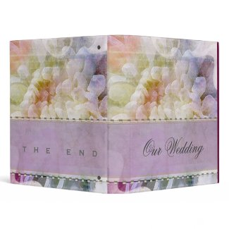 Soft & Romantic Lilac Wedding Planner binder
