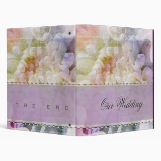 Soft & Romantic  Lilac Wedding Planner Binder