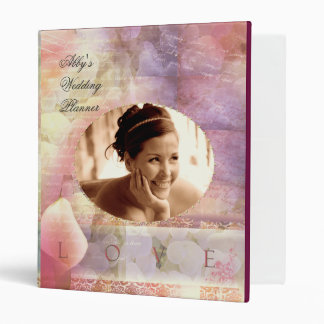 Soft & Romantic  Wedding Planner Binder