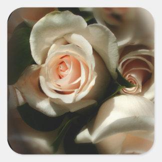 Soft Rose Envelope Sticker