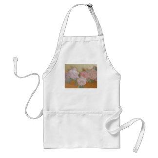 soft rose-gold adult apron