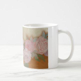 soft rose-gold coffee mug