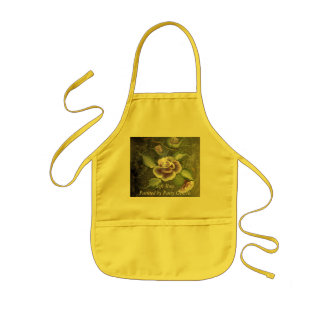Soft Rose Kids' Apron