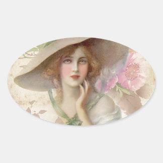 Soft Serenity 06 Oval Sticker