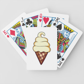SOFT SERVE ICE CREAM BICYCLE PLAYING CARDS