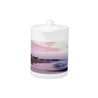 Soft Shine of the Sea Teapot