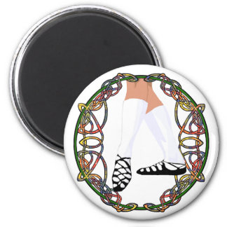 Soft Shoe Dancer - Celtic Knotwork Magnet